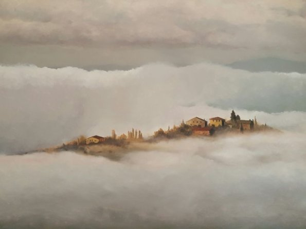 Tuscany in the Mist